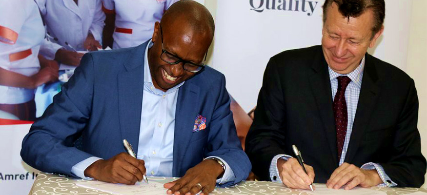 Amref Signs MOU with Aga Khan Foundation East Africa