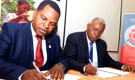 General Nursing Council of Zambia signs MoU with Amref Institute of Capacity Development