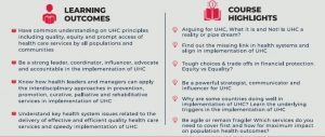UHC Course for Health Leaders and Managers